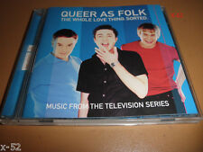 QUEER AS FOLK soundtrack CD Jimmy Sommerville MURRAY GOLD score KIA cinnamon