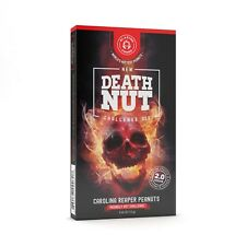 The Death Nut Challenge Version 2.0 world's hottest carolina reaper peanuts