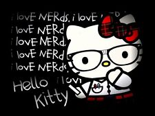 Hello kitty Nerd Mouse pad Hello Kitty Mouse pad