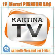Kartina.TV 1 Jahr Abo PREMIUM ohne Vertragsbindung Ruskoe TV Archiv Videothek