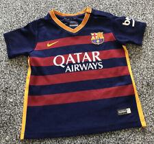 Nike Barcelona Barca Home Football Shirt 2015/2016 - Kids Size Age 12-18 Months
