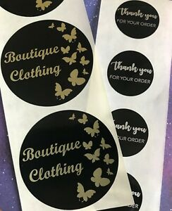 Personalised Stickers with your Logo Brand - Custom Size or Postage Labels Vinyl