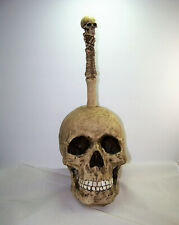 Skull Skeleton Bathroom Free Standing Brush Holder Skulls Summit 1999 Halloween