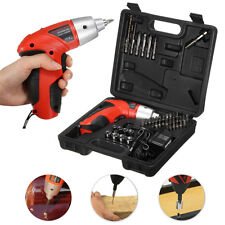 45 in 1 Cordless Electric Rechargeable Drill Driver Kit Screwdriver Power Tool