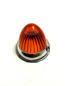 BORGWARD ISABELLA Amber Acrylic Turn Signal Lens - NEW #29b single