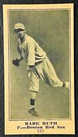 1916 M101-5 # 151 BABE RUTH Rookie Reprint - MINT