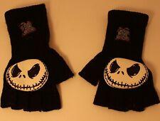 Nightmare Before Christmas Fingerless Jack Gloves