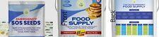Emergency Vegetable + Fruit Seed And Food Supply Survival Kit 1 Week 4000+ Seeds