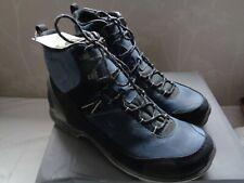 BNIB Ecco mens black / navy leather Biom Terrain walking boots UK 10.5 / 11 (45)