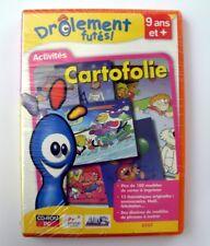 Logiciel PC Activités enfant (dès 9 ans) Cartofolie / drolement futés -NEUF, NEW