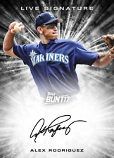 Topps BUNT Alex Rodriguez LIVE SIGNATURE Seattle Mariners [Digital Card] 150cc