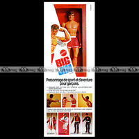 Mattel BIG JIM - 1973 Pub / Publicité / Vintage Action Figure Ad #C46