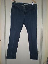 Women's New York & Company Low Rise Skinny Leg Dark Wash Jeans size 16