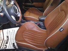 Kit Ripristina Colore Spallina Pelle Marrone Malto Mini Cooper Sidewalk Cabrio