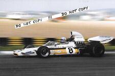 9x6 Photograph  Peter Revson,  McLaren M19C  , Brazilian GP  Interlagos 1973