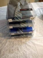 NWT J.Ferrar Slim Fit  Mens Dress Shirt And Tie Set, MSRP $50