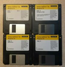 NORTON Antivirus V2.0 Windows 95 Diskettes 1 - 4