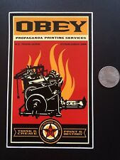 Vintage Shepard Fairey Large Print And Destroy Sticker Obey Giant 3.75 X 6