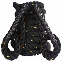 Q Sports Body Solid Battle (15m x 38mm) Boot Camp Fitness Exercise Training Rope
