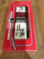 Box8) American Flyer 1993 Christmas Boxcar 6-48319 S Gauge New