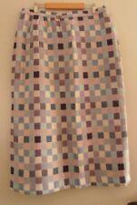 Vintage Skirt with Belt / Scarf UK 14 ?