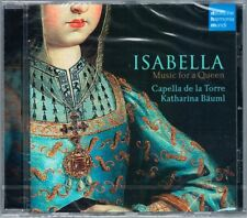ISABELLA Music for a Queen Capella de la Torre Katharina Bäuml CD Castile Spain
