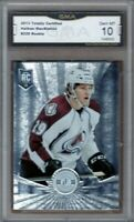 GMA 10 Gem Mint NATHAN MacKINNON 2013/14 Totally Certified ROOKIE Card AVALANCHE