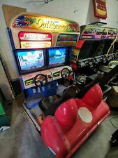 Out Runners twin driving arcade machine