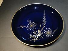 Beautiful Echt Kobalt Schumann Germany Dandelion Wildflowers Charger Plate