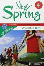 """MP008 HACHETTE """"New Spring"""" Workbook 4e (Nouveau programmes A2)"""