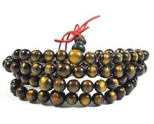 Genuine Golden Black Coral Sea Willow 108 Beads 09 mm