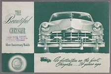 [61087] 1949 CHRYSLER SILVER ANNIVERSARY BROCHURE (ONTARIO, CALIFORNIA DEALER)