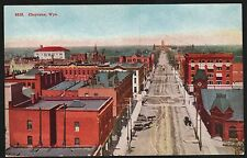 Postcard Cheyenne Wyoming Wy Dirt Street/Horse & Buggy
