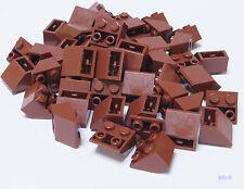 LEGO - 50 Dachsteine invers 2x2  / 45 Grad braun / Slope Inverted 3660 NEUWARE