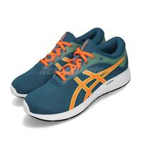 Asics Patriot 11 Deep Sapphire Orange White Men Running Shoes 1011A568-401