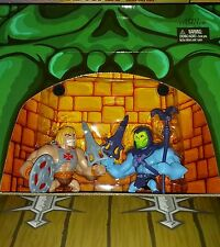 Masters of the Universe Classics SDCC mini Skeletor and He Man Figures