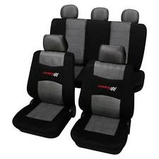 Grey & Black Washable Car Seat Covers - For Toyota Starlet 1996-1999