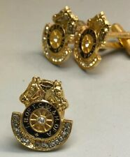 Teamsters Cuff Links And Tie Pin