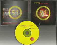 RARE TRX PROMO CD  MORRISSEY Mudhoney THE CULT Wilco THROWING MUSES Waterlillies
