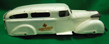 WYANDOTTE AMBULANCE, CIRCA 1930's in GORGEOUS ORIGINAL CONDITION, 11 INCHES LONG