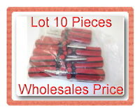 10 Pcs Core Remover with Red and Black Handle Tire Repair Tool