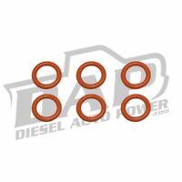 DAP Set Of 6 Fuel Connector Tube O-Rings - 03-15 Dodge Ram 5.9L 6.7L Cummins