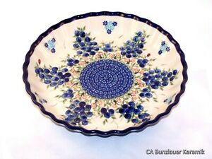 Original Bunzlauer Keramik Unikat Servierplatte
