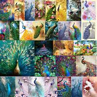 5D DIY Diamond Painting Peacock Beauty Cross Stitch Embroidery Mosaic Kit Home