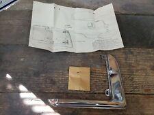 1955 1956 55 56 Pontiac Nos Gasfuel Door Guard Kit Original Gm Accessory 988541