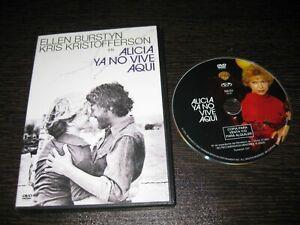 ALICIA YA NO VIVE AQUI DVD ELLEN BURSTYN KRIS KRITOFFERSON