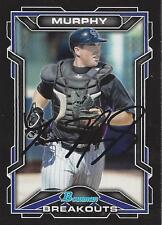 Tom Murphy Colorado Rockies 2013 Bowman Breakouts Signed Card