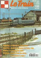 """LE TRAIN N°133 LIGNE """"COSTO BLUIO"""" / FOURGON DD4S ROCO / 1CC1 3801 / LES 2.641"""