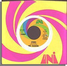 "Neil Diamond - Stones + Crunchy Granola Suite - 7"" Uni 45 RPM Single!"
