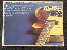 POP-KARD feat. 1959 HOFNER CLUB 60 cutting 11x15cm greeting card aap